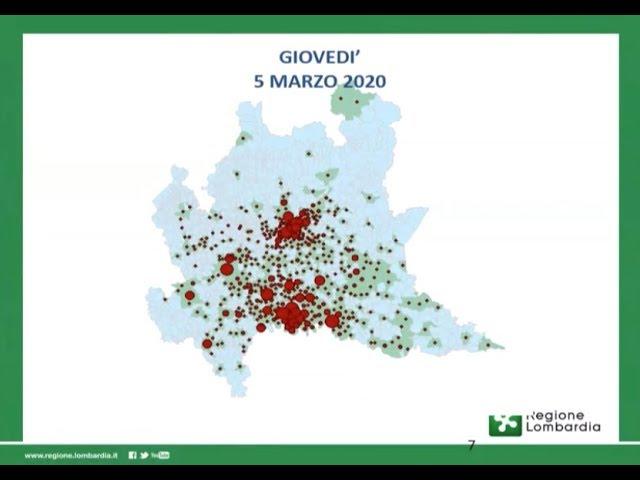 Cartina Lombardia Con Citta.Coronavirus La Mappa Del Contagio In Lombardia Lecco Notizie