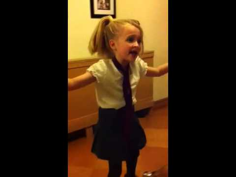 Jessie age 7 Naughty from Matilda the musical