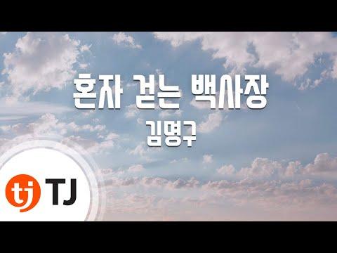 [TJ노래방] 혼자걷는백사장 - 김명구 / TJ Karaoke