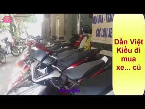 Cùng Việt Kiều Đi Mua Xe Air Blade Củ. Tham Khảo Giá Xe Vario 2017-2018