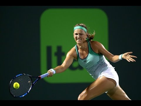 Miami Open Second Round | Victoria Azarenka vs Monica Puig | WTA Highlights