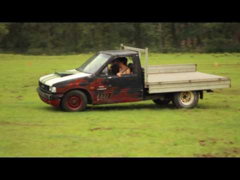 Drifting A Holden Rodeo