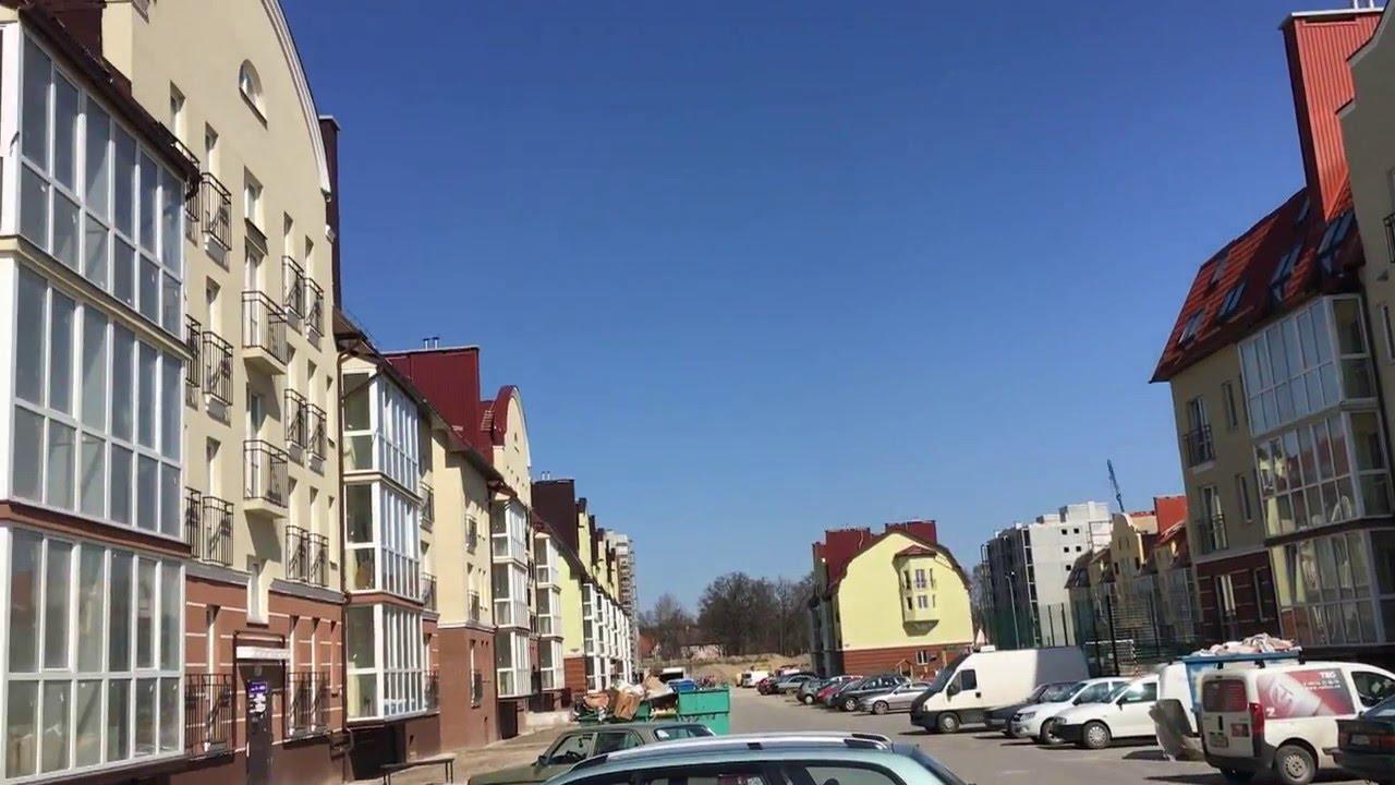 Дом в п Кузнецкое Калининградская область - YouTube
