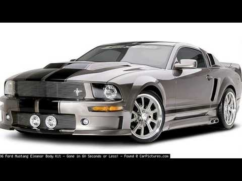 mustang eleanor body kit youtube. Black Bedroom Furniture Sets. Home Design Ideas