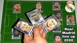 Waw ! Real Madrid line up 2019/2020 Ft I Hazard , Jovic , Pogba ?
