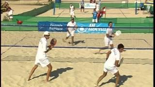 2011 European Beach Tennis Championships - Men Final