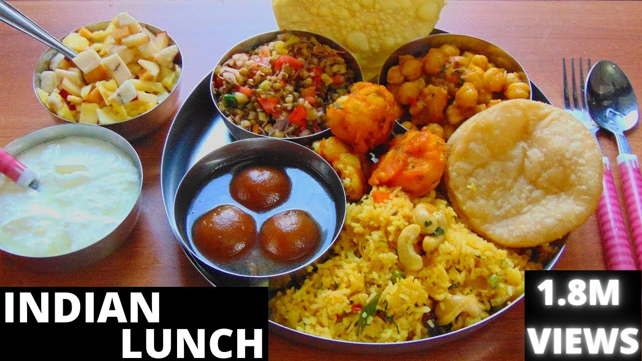 Indian Thali Food Images