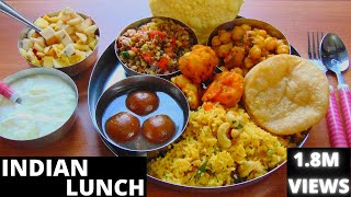 SUNDAY INDIAN LUNCH ROUTINE | SPECIAL INDIAN VEG THALI