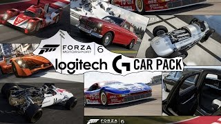 Forza Motorsport 6 - Logitech G Car Pack - All Cars & Gameplay (XboxONE HD) [1080p60FPS]