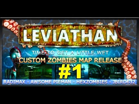 Leviathan: AMAZING Underwater ZOMBIES!· Call of Duty World at War ...