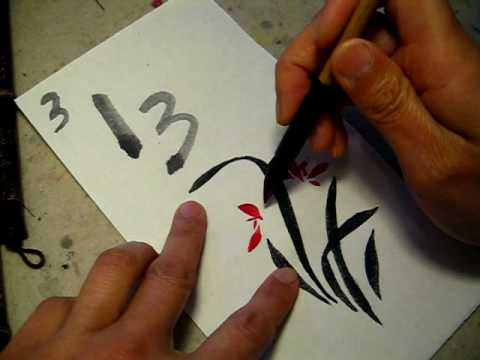 paint with triple xuan paper