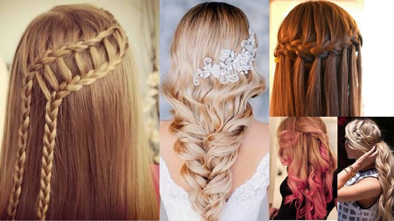 3 easy hairstyles for girls 2017 - youtube