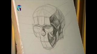Уроки живописи # 9. Рисуем обрубовку головы. Часть 1