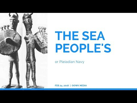 The Pleiadian Navy or Sea People's History 1200 BC