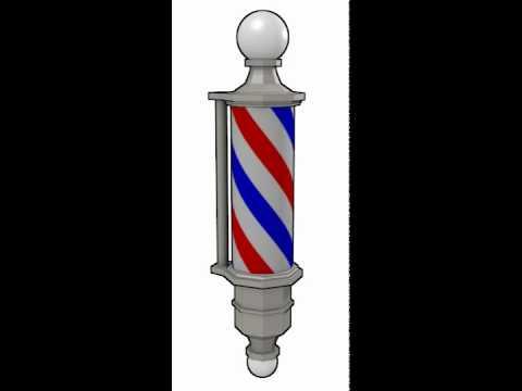 Animated Barber Pole WE-barber-pole.mov - Y...