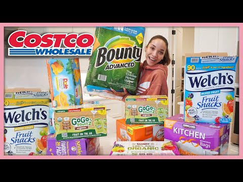Shop With Me At Costco + Costco Haul | MOM VLOG
