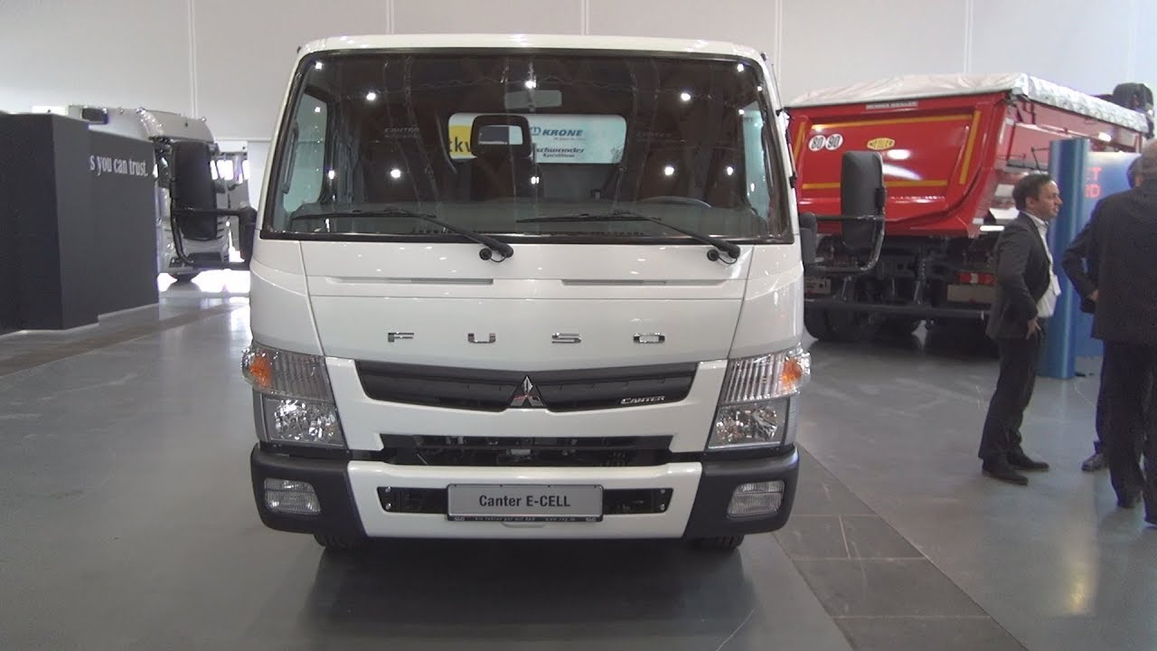Fuso Canter E Cell Chassis Truck 2018 Exterior And Interior Youtube