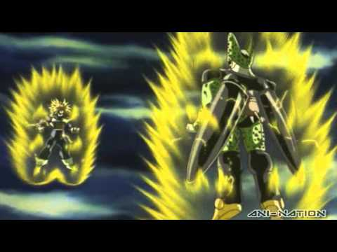 Dragon Ball Kai - Trunks vs Cell English DUB