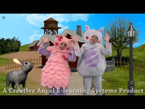 Little Peter Rabbit - Nursery Rhymes For Children with Lyrics | Sing and Learn