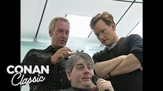 Conan Visits The Wella Hairstyling School - Conan25: The Remotes