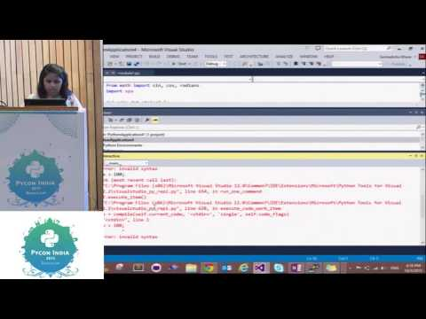Image from Sponsored - Build Python Web Apps in a breeze with Visual Studio - PyCon India 2015