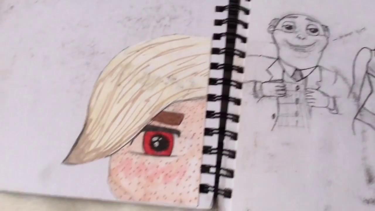 My Sketchbook Tour