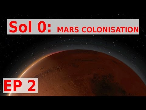 Sol 0 Beta 0.90 EP 2 - COLONIST HAVE ARRIVED -gameplay