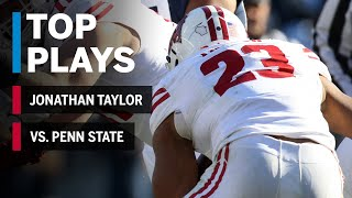 Top Plays: Jonathan Taylor Highlights vs. Penn State Nittany Lions | Wisconsin | Big Ten football