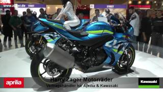 Kawasaki ZX10RR 2017 vs  Aprilia RSV4RF  2017 Suzuki GSX R 1000 2017 vs  Honda Fireblade 2017