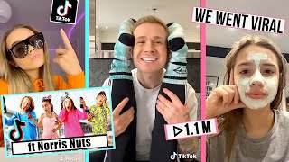 TRYING TO GET TIKTOK FAMOUS IN 24HRS!! IT WORKED *Ft NORRIS NUTS
