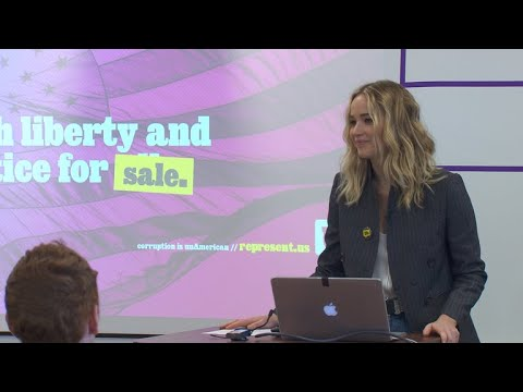 Jennifer Lawrence's Fight Against Political Corruption