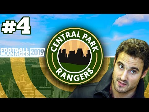 CENTRAL PARK RANGERS | EPISODE 4 | FOOTBALL MANAGER 2019