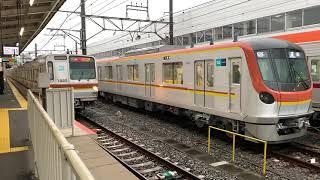 新旧メトナナ 東京メトロ7000系 川越市 発車