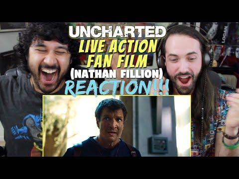 UNCHARTED  Live Action  Film 2018 Nathan Fillion  REACTION & !!!