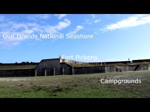 Gulf Islands National Seashore - Fort Pickens - Campgrounds