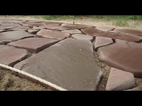 Галтованный песчаник . Как кладут и кто кладет .