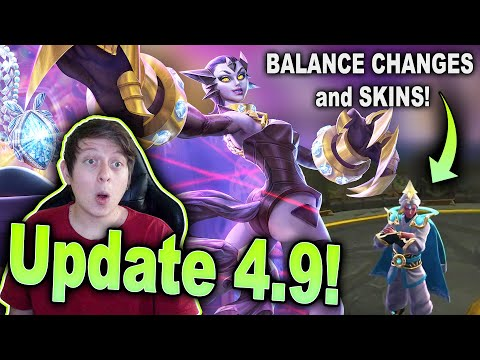 UPDATE 4.9 PATCH NOTES & NEW SKINS! HUGE VIOLA BUFF And MORE! - Vainglory