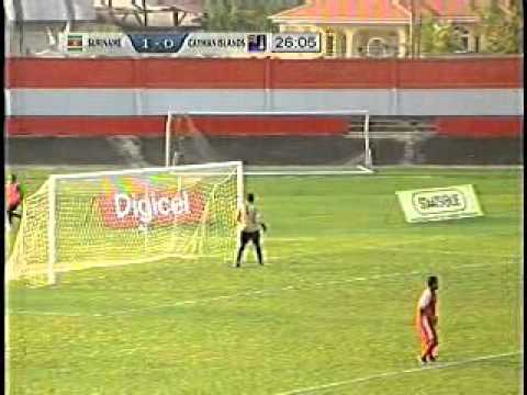 WK-kwalificatie 2014, Suriname vs. Cayman Islands (1ste Helft) (1-0)