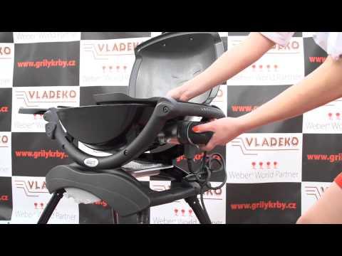 elektrick gril weber q 1400 stand youtube. Black Bedroom Furniture Sets. Home Design Ideas