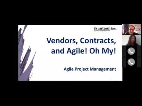 Vendors, Contracts, and Agile! Oh My!
