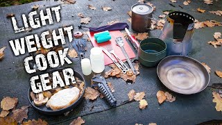 Camping | My Lightẁeight backpacking kitchen / cooking gear