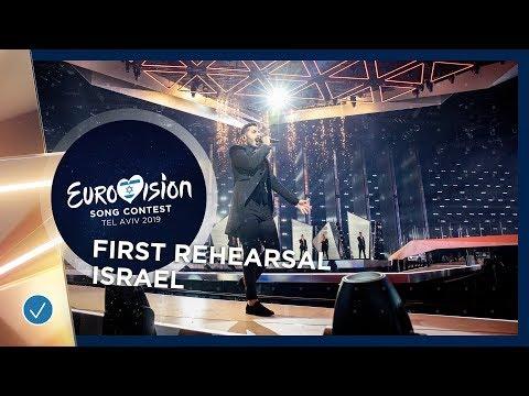 Israel 🇮🇱 - Kobi Marimi - Home - First Rehearsal - Eurovision 2019