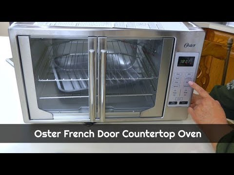 Oster French Door Convection Countertop Toaster Oven Unboxing Toaster Oven What S Up Wednesday Youtube