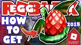 [EVENT] How To Get the Dreggon Egg - Roblox Egg Hunt 2018 - Wonderland Grove Dragon Egg