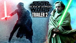Star Wars The Rise Of Skywalker Trailer 2 HUGE News Revealed (Star Wars Episode 9 Trailer)