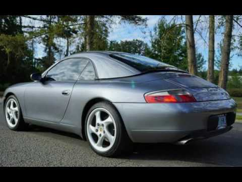 2001 porsche 911 carrera 6 speed hard top convertible for sale in milwaukie or youtube. Black Bedroom Furniture Sets. Home Design Ideas