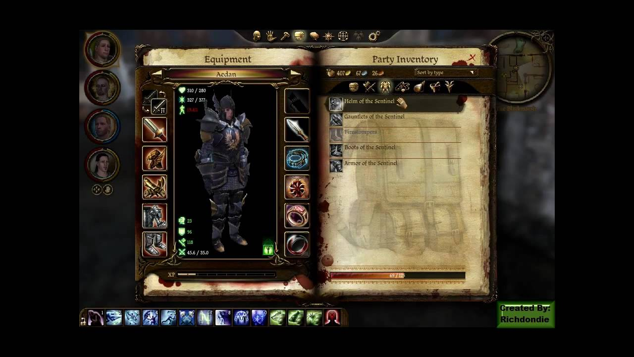Dragon Age Origins Awakening The Sentinel Armor Set Youtube As for the set of items, the plate armor is only a chestpiece armor item from the juggernaut item set. dragon age origins awakening the sentinel armor set