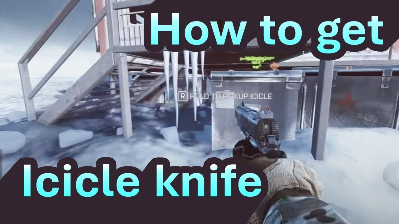 how to get the icicle knife bf4 youtube