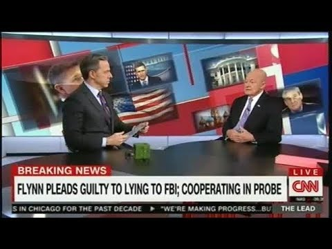 THE LEAD JAKE TAPPER 12/01/17 James Clapper on Mike Flynn: 'Rule of Law Does Prevail'