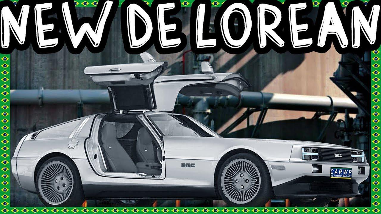 New Delorean 2020 PHOTOSHOP New 2020 DMC DeLorean DMC 12 EV Electric Vehicle AWD 750